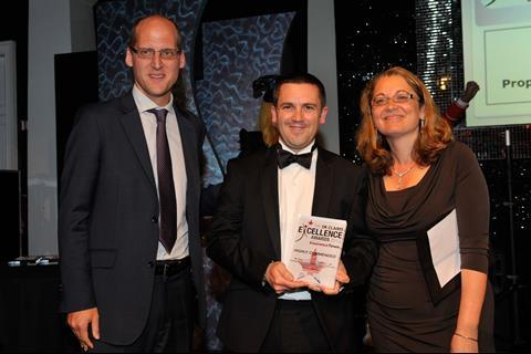 UK Claims Excellence Awards 2013 Outstanding Insurer Claims Team of the Year - highly commended